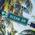 óceán · vezetés · felirat · utca · jelzőlámpa · város - stock fotó © vwalakte