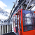 red cable car in winter stock photo © vwalakte