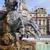 fő- · tér · Franciaország · szökőkút · szobor · pápa - stock fotó © vwalakte