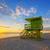 güney · plaj · Miami · cankurtaran · kule · su - stok fotoğraf © vwalakte