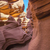 vertical view of famous antelope canyon stock photo © vwalakte