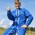 woman farmer with thumb up stock photo © vwalakte