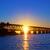 sunset bridge stock photo © vwalakte