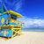úszómester · torony · Miami · tengerpart · gyönyörű · nyár - stock fotó © vwalakte