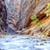 folyó · víz · fenék · folyam · piros · kövek - stock fotó © vwalakte
