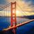 Golden · Gate · Bridge · vagues · San · Francisco · ciel · eau · route - photo stock © vwalakte