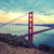golden gate bridge special photographic processing stock photo © vwalakte