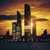 view · Abu · Dhabi · skyline · tramonto · Emirati · Arabi · Uniti · business - foto d'archivio © vwalakte