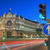 gran via street in madrid by night stock photo © vwalakte