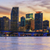 panoramic sunset miami stock photo © vwalakte