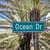 jelzőtábla · híres · utca · óceán · vezetés · Miami - stock fotó © vwalakte