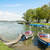 boats on the chiemsee germany stock photo © w20er
