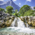 cascade · alpes · photos · arbres · montagnes · eau - photo stock © w20er