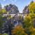 bridge named bastei in saxon switzerland stock photo © w20er