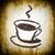 コーヒーカップ · 豆 · 孤立した · 白 · 食品 · コーヒー - ストックフォト © w20er