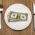 Bill · lege · plaat · bezoeker · restaurant · handen - stockfoto © w20er