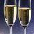 champagner with blue background stock photo © w20er