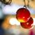 Natale · palla · mela · isolato · bianco - foto d'archivio © w20er