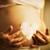 gravidez · coração · branco · abdômen · mãos · mulher · grávida - foto stock © w20er