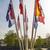 zászlók · különböző · országok · zászlórúd · kék · ég · zászló - stock fotó © w20er