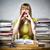 student · posiedzenia · nauczycieli · biurko · myślenia · patrząc - zdjęcia stock © w20er