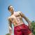 красивый · молодым · человеком · плаванию · Летние · каникулы · жизни - Сток-фото © w20er