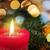 燃焼 · キャンドル · クリスマスツリー · ぼけ味 · クリスマス · 装飾 - ストックフォト © w20er