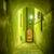 narrow illuminated alley stock photo © w20er