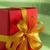 vermelho · caixa · de · presente · verde · dourado · fita · ilustração - foto stock © w20er