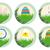 cartoon · easter · egg · bunny · teken · houten · Pasen - stockfoto © w20er