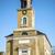 katholiek · kerk · klok · blauwe · hemel · Pasen · gebouw - stockfoto © w20er