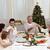 nonni · genitori · Natale · cena · home · ragazza - foto d'archivio © wavebreak_media