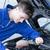 zagęszczony · człowiek · samochodu · garaż · uśmiech - zdjęcia stock © wavebreak_media