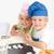 dois · pequeno · chefs · bolinhos · cozinha · sorridente - foto stock © wavebreak_media