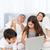 guardando · laptop · genitori · parlando · letto · famiglia - foto d'archivio © wavebreak_media