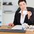 Professional office worker doing accountancy in her office stock photo © wavebreak_media