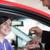 donna · sorridente · chiavi · della · macchina · auto · shop · donna · strada - foto d'archivio © wavebreak_media