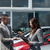 Businesswoman giving car keys to a client in a dealership stock photo © wavebreak_media