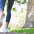mujer · zapatos · hierba · par · toma · día - foto stock © wavebreak_media