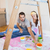 cute couple about to paint living room stock photo © wavebreak_media