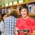 főiskola · diákok · digitális · tabletta · könyvtár · csoport - stock fotó © wavebreak_media
