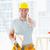carpinteiro · retrato · feliz - foto stock © wavebreak_media