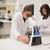 医療 · 学生 · 作業 · 顕微鏡 · 大学 · 女性 - ストックフォト © wavebreak_media