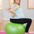 terhes · nő · testmozgás · egyensúly · izmos · erő · mag - stock fotó © wavebreak_media