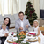 familie · vieren · christmas · diner · Turkije · home - stockfoto © wavebreak_media