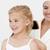 genç · anne · saç · banyo · kadın · gülümseme - stok fotoğraf © wavebreak_media