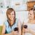 友達 · 飲料 · ワイン · リビング · ホーム · 女性 - ストックフォト © wavebreak_media