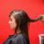 genç · kadın · saç · mutlu · moda · çalışmak - stok fotoğraf © wavebreak_media