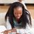 młodych · student · pracy · salon · uśmiechnięty · młoda · kobieta - zdjęcia stock © wavebreak_media