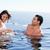 spelen · zwembad · water · gezicht · mode - stockfoto © wavebreak_media
